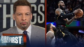 Chris Broussard and Danny Kanell discuss the legitimacy of LeBron's Cavs 2.0 | FIRST THINGS FIRST