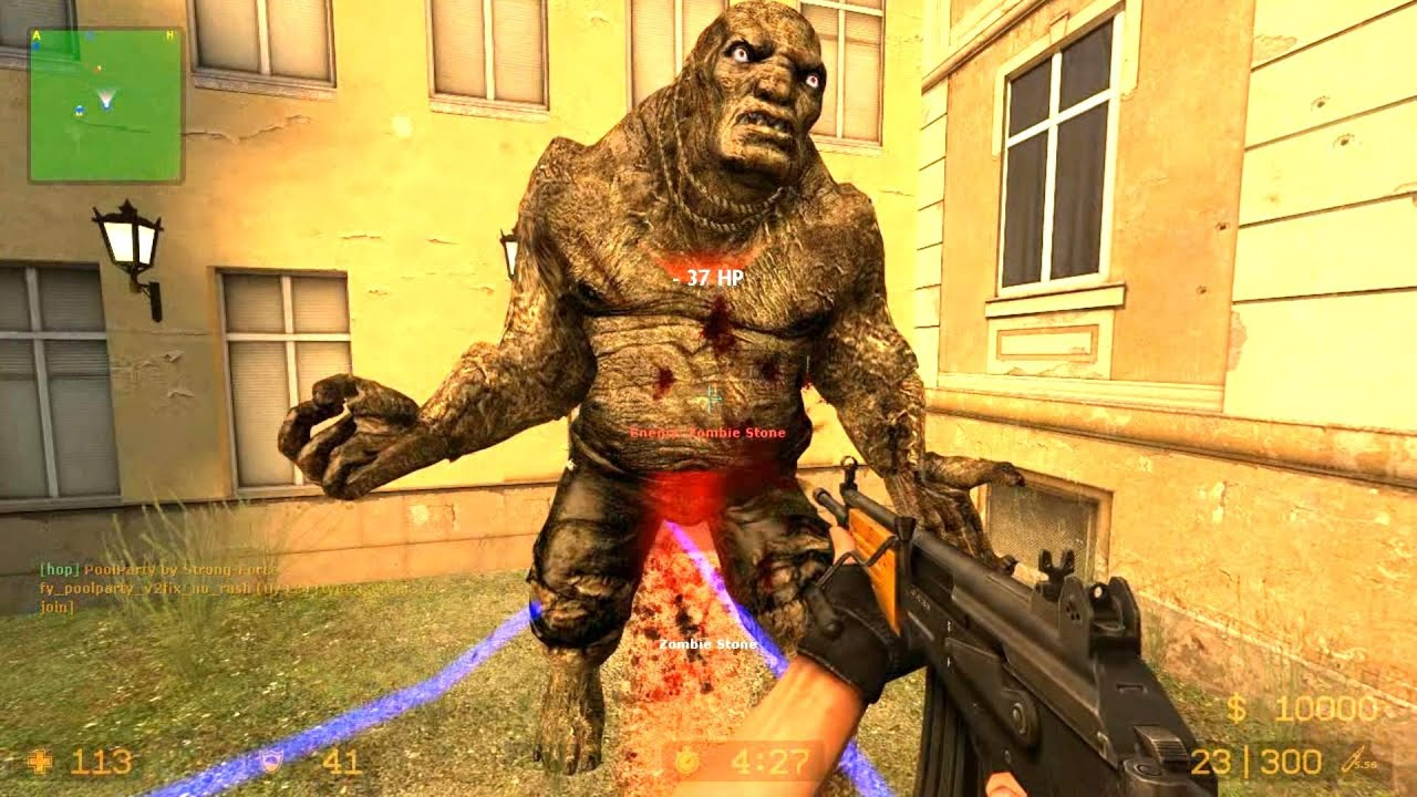 Counter Strike Source Zombie Horde mod Zombie Horror Boss ...
