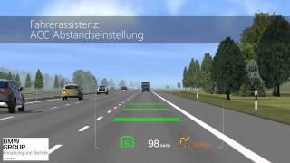 BMW Head Up Display HUD - Simulation Augmented Reality