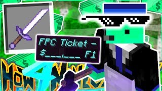 GIFTING THE HIGHEST PRICED FPC TICKET 💸 - How To Minecraft S4 #43