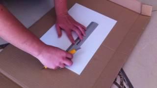 Przycinanie paneli PCV 2mm, panele kuchenne