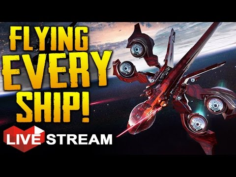 Star Citizen 2.5 Gameplay | Flying ALL the SHIPS!! | Live Stream
