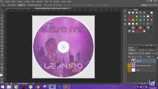 Como fazer capa de cd personalizada no photoshop cs6
