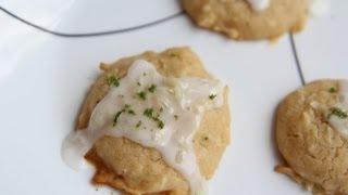 Cool Coconut Lime Cookies Recipe - Vegan