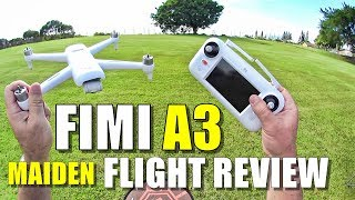 Xiaomi FIMI A3 Drone Review - Part 2 - [Maiden Flight Test, Pros & Cons]