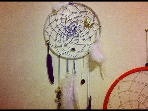 Diy dreamcatcher youtube for How to create a dreamcatcher