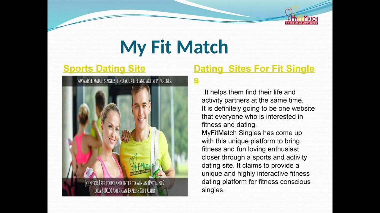 best dating site for fitness dating someone right out of a long term relationship