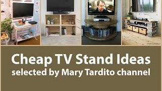 Cheap TV Stand Ideas - Apartment Decorating on a Budget