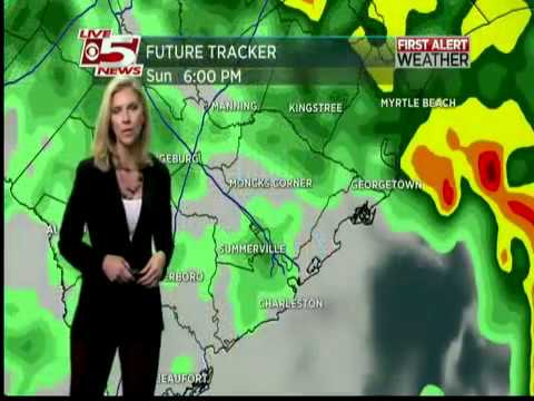 First Rainfall In Charleston, SC Since Hurricane Matthew!