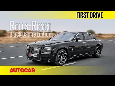 Rolls-Royce Black Badge Edition   First Drive   Autocar India