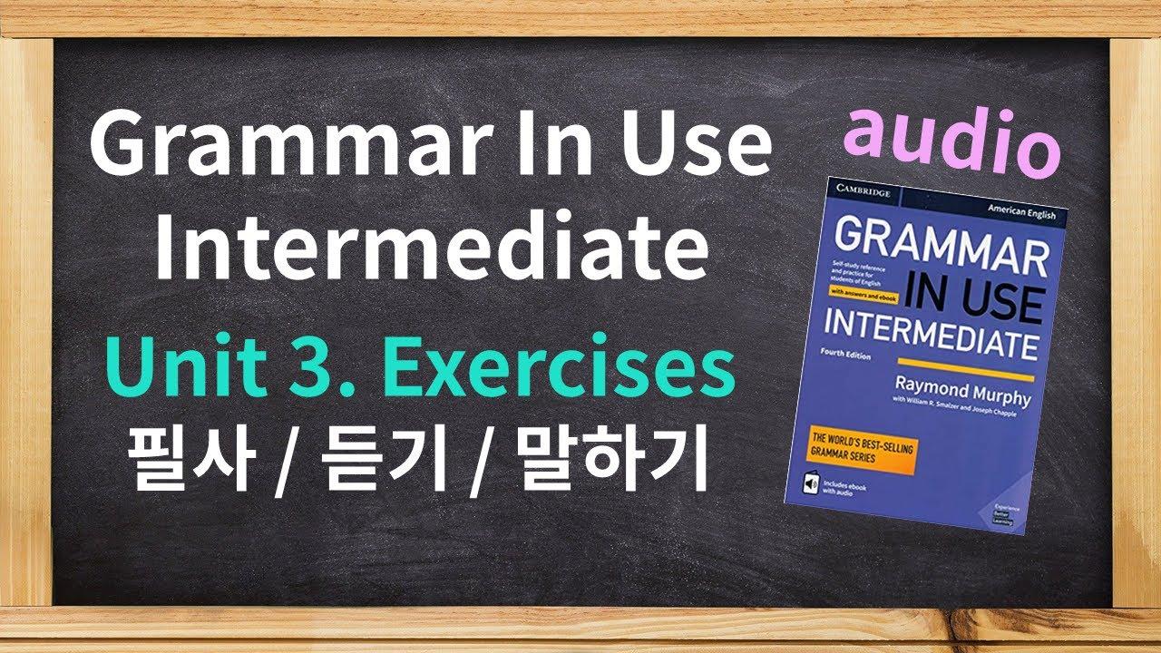 Audio / Grammar in Use Intermediate Unit 3  Exercises / American English