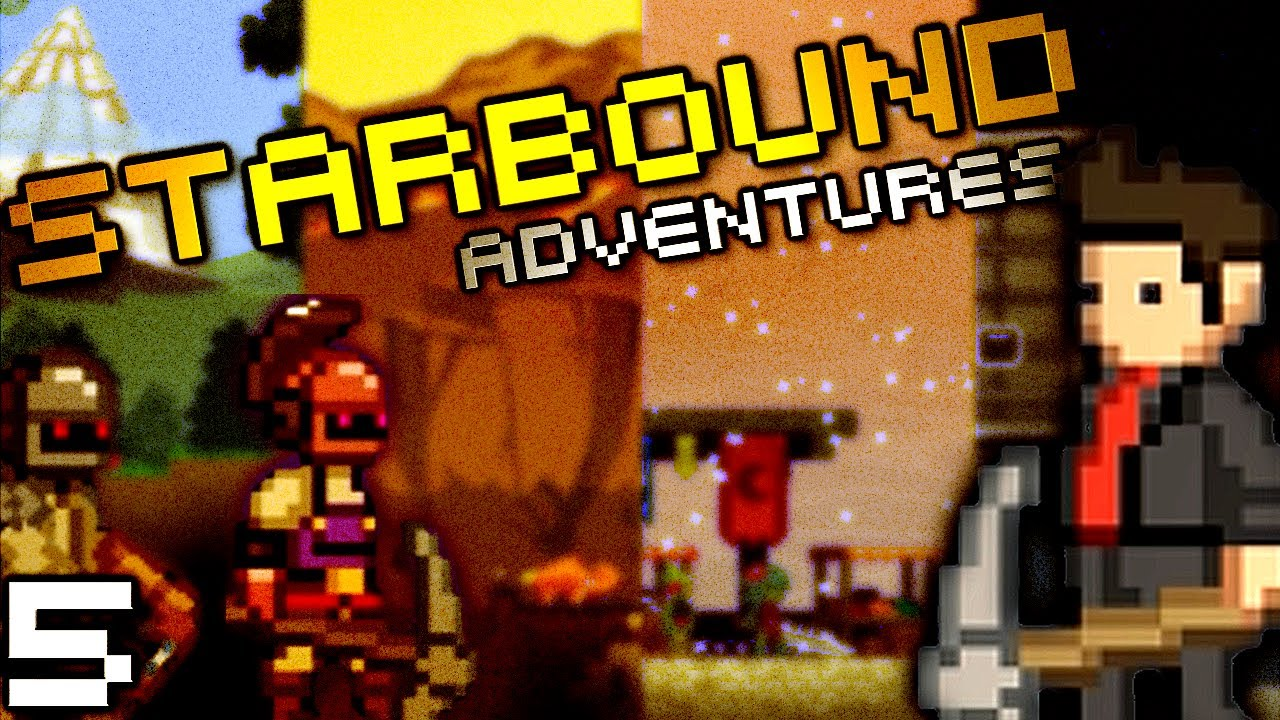 Sark is a Dead Man    (StarBound w/ Seananners, Mr Sark, Hutch, and Chilled  - Part 5)