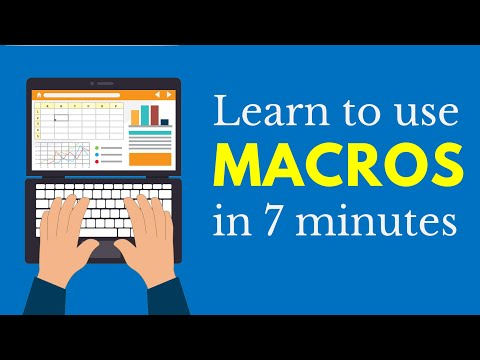Learn Macros In 7 Minutes (Microsoft Excel)