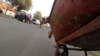 Scorton Feast Wheel Barrow Race - onboard footage with the Coates brothers!