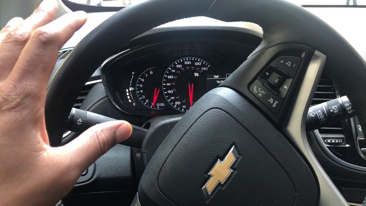 2016 chevy trax dash lights