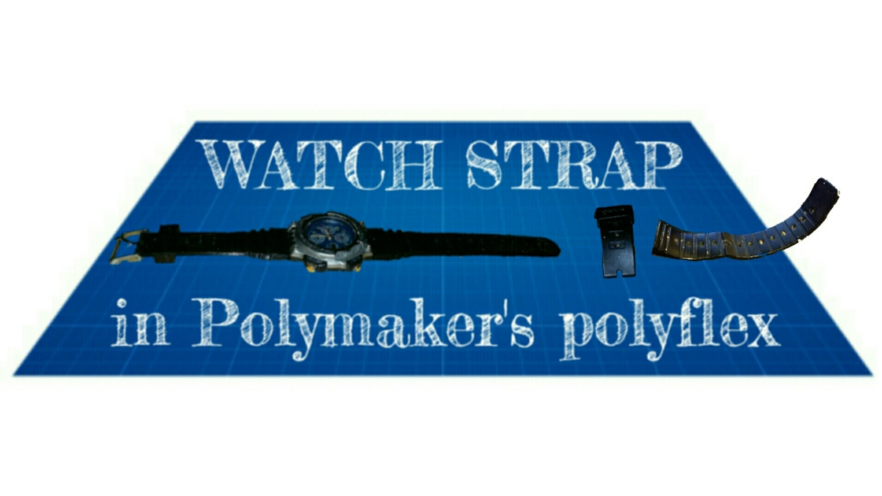3D printing a watch strap in polymaker's polyflex flexible filament on the  CEL robox