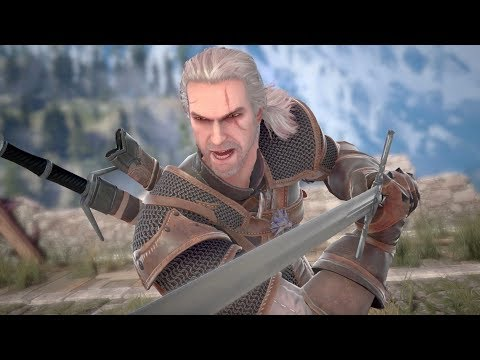 SOULCALIBUR VI - Geralt of Rivia Reveal Trailer | PS4, X1, PC