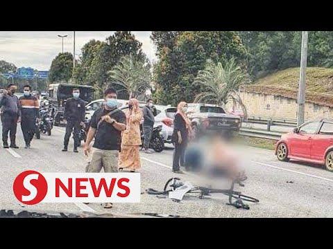 TV crew member dies after car hits his bicycle in Cyberjaya thumbnail