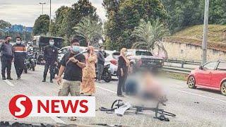 TV crew member dies after car hits his bicycle in Cyberjaya