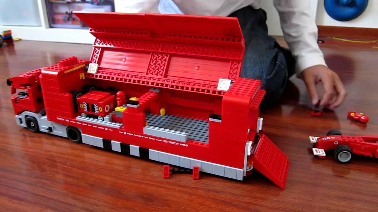 Review Lego Ferrari Truck Dutch Spoken Youtube