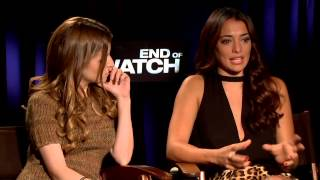 End Of Watch - Interview with Anna Kendrick and Natalie Martinez