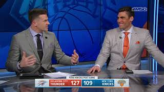 Strong Defensive Moments Can't Undo First Quarter For Knicks: Highlights & Analysis
