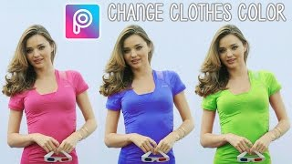 Video How to Changes Clothes Color in Picsart Mobile | Easy Tutorial download MP3, 3GP, MP4, WEBM, AVI, FLV Agustus 2018