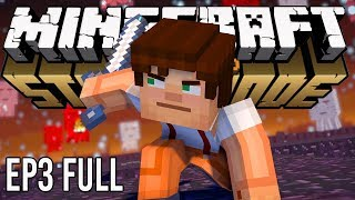 "Minecraft Story Mode: Season 2 Episode 3 ""Jailhouse Block"" FULL"