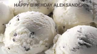 Aleksander   Ice Cream & Helados y Nieves - Happy Birthday