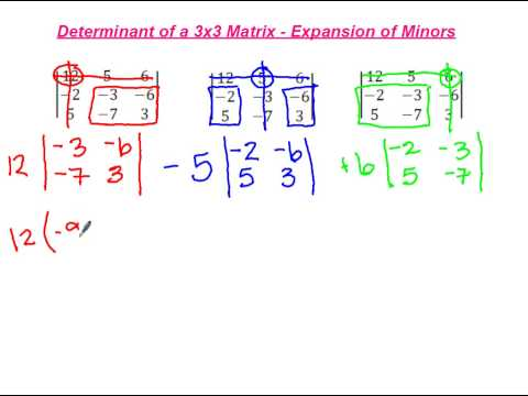 determinants 4 x 4 matrix example 1 doovi. Black Bedroom Furniture Sets. Home Design Ideas