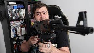 Zrobiłem kontroler do VR z zabawkowego karabinu