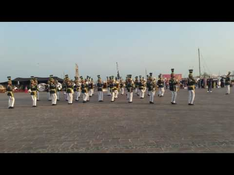 Pakistan Army Band in Qatar