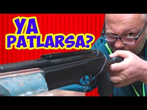Havalı Tüfekle Telefon Bataryası ve Pil Vurduk - Ya Patlarsa?