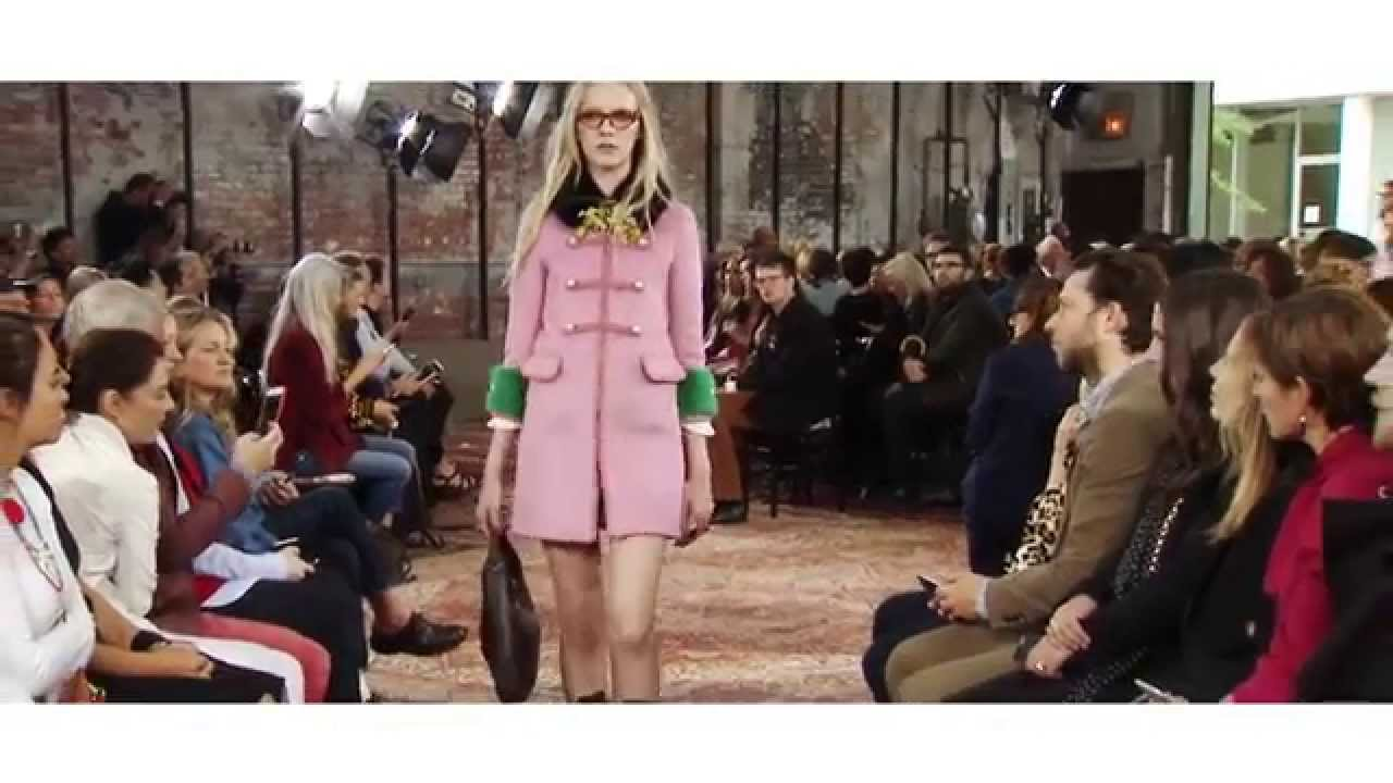 Gucci Cruise 2016 Fashion Show | A Preview