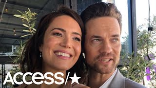 Shane West Lovingly Honors Mandy Moore At Her Hollywood Walk Of Fame Ceremony | Access