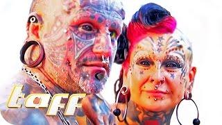 Verrücktes Tattoo-Pärchen | taff | ProSieben