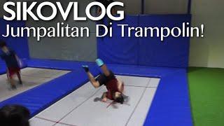 SIKOVLOG #15 - Jumpalitan Di Trampolin! (Ft. Pandji Pragiwaksono) Mp3