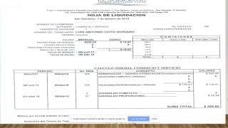 CALCULO DE INDEMNIZACIÓN POR DESPIDO EQUIPO N#7