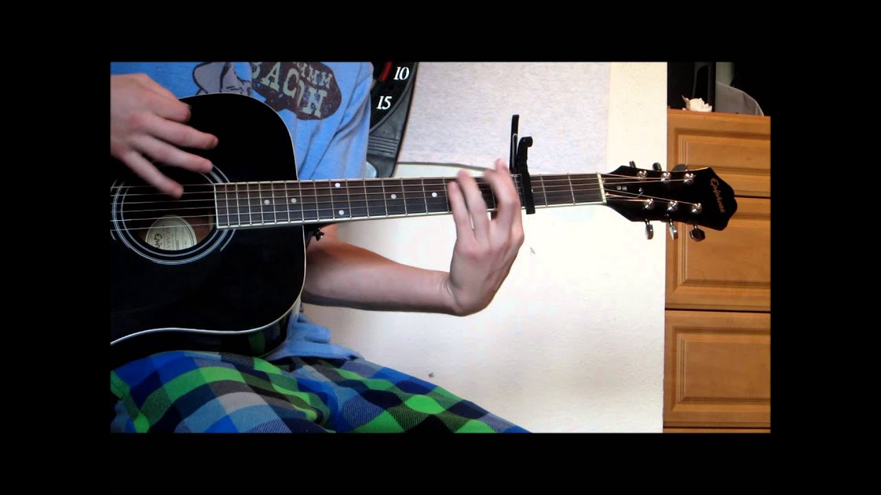 Blame it on me, george ezra, guitar tutorial video.