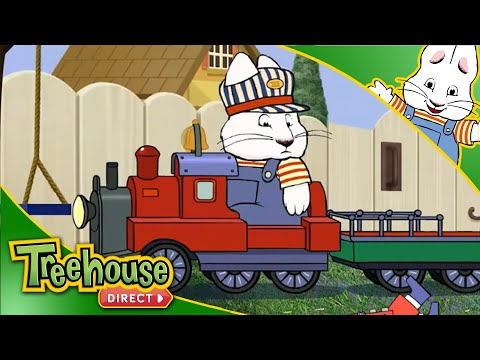 Max and Ruby | TOP 5 Train Moments! 🚂 | Treehouse Direct Clips! NEW!
