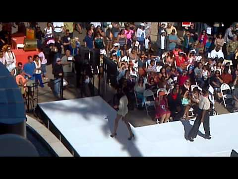 Runway show at Fashion Valley Mall