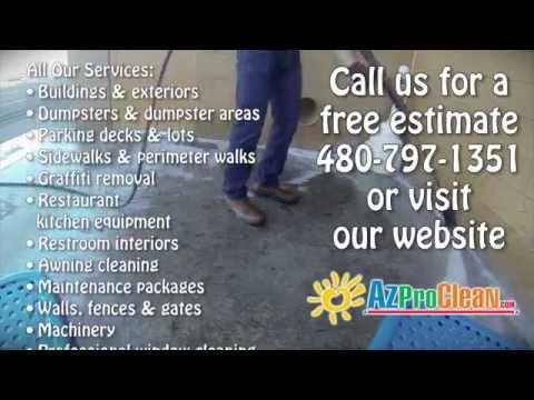 AZ Pro Clean - Arizona Professional Pressure Washing Services