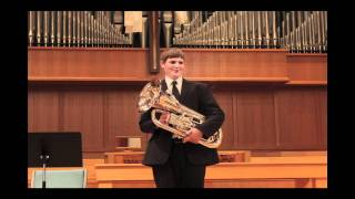 "Jason Forrest: Euphonium Recital, ""Beautiful Colorado"""