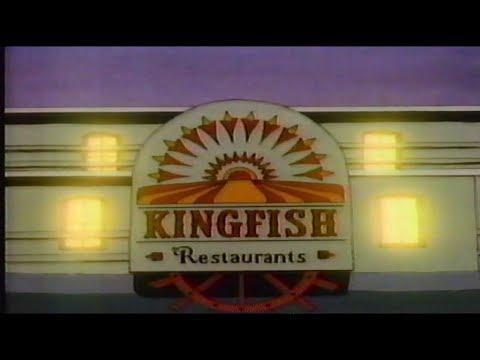 Kingfish Restaurants Louisville KY 80s Era Commercial