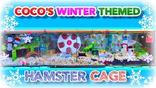 Coco's WINTER Themed HAMSTER CAGE TOUR | December 2014 Thumbnail