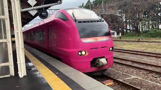 (列車発車)e653系特急いなほ