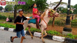 KUDA DELMAN🔴Naik Delman kuda delman istimewah~cipinang indah BKT ~ Horse