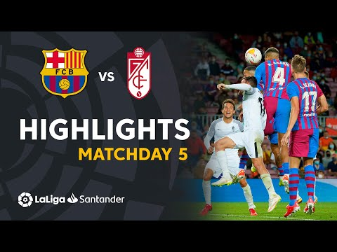 Barcelona Granada Goals And Highlights