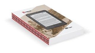 EvroMedia HD Paper 8Гб, WI-FI, HD eink, распаковка и обзор электронной книги.