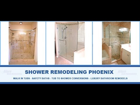 Shower Remodeling Phoenix Allure Bathroom